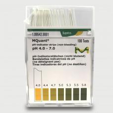 PAPEL IND. pH 4 - 7 MERCK (CX C/100LÂMINAS)