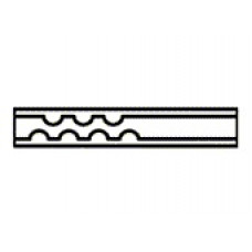 LINER PVT DEFLETOR UNICO DESATIVADO (200uL DIAM INT 2mm) UND - AGILENT