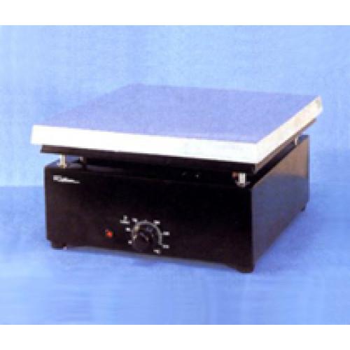 CHAPA AQUECEDORA  31x31cm 1600W 230V DIGITAL MOD. 509D-2 FISATOM - C/RESISTÊNCIA INTERNA - BASE EM AÇO REVESTIDO EM EPOXI