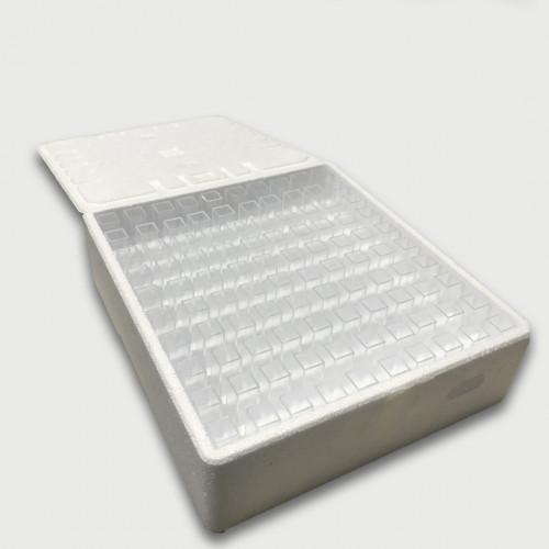 CUBETA 10 mm CAM. ÓPTICO EM PS SEMIMICRO 1,5-3,0ml  DESCART. BRAND - 100 UND