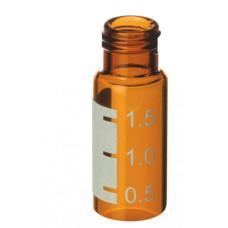 VIAL 2 ml AMBAR ROSQUEAVEL AREA P/ IDENT.  RESTEK (EMB. 100 UND)