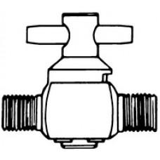 VALVULA 2 VIAS PARA MANIFOLD PVC E INTEGRITEST (EMB) MILLIPORE