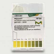 PAPEL IND. pH 6,5-10 MERCK CX C/ 100 LÂMINAS