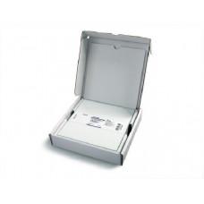 SILICAGEL 60 F254 CROMATOPLACA 20X2,5cm P/ TLC. 0,25mm C/ ZONA CONCENTRAÇÃO E INDICADOR  CX C/ 25 UND