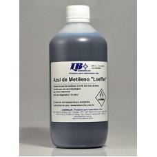 AZUL DE METILENO LOEFFLER LABORCLIN (FRASCO 500 mL)