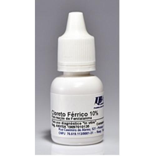 FERRICO CLORETO 10% LABORCLIN (FRASCO 10mL)