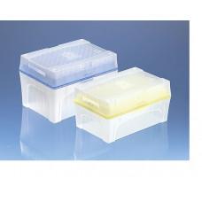 PONTEIRA 2 - 200 ul INCOLOR TIPBOX BIO-CERT ESTERIL BRAND (10 BOX C/ 96 UND)
