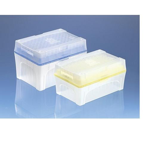 PONTEIRA C/ FILTRO 5 - 100 ul INCOLOR TIPBOX BIO-CERT BRAND - (10 BOX C/96 UND)