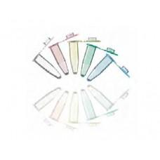 TUBO P/ PCR 0,2 ml EM PP TP PLANA LIVRE DNAse RNAse DNA (EMB C/1000 UND) BRAND - PAREDE EXTRA FINA, PERFEITA VEDAÇÃO AZUL