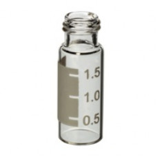 VIAL 2 ml TRANSP ROSQUEAVEL AREA P/ IDENT RESTEK (EMB. 1000 UND)
