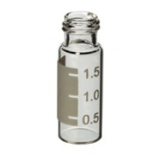 VIAL 2 ml TRANSP ROSQUEAVEL AREA P/ IDENT RESTEK (EMB. 100 UND)