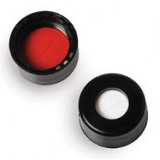 TAMPA P/ VIAL 9mm PRETO EM PP C/ SEPTO PTFE/SIL RESTEK (EMB. 1000 UND)